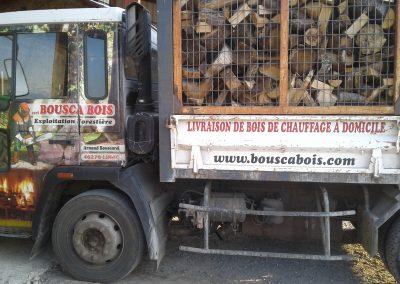 Camion Bousca bois